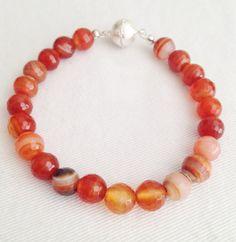 Agate bracelets by Hellenna on Etsy, £10.00