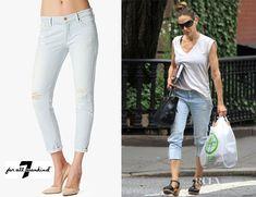Fashion Trends: Sarah Jessica Parker's 7 For All Mankind Josefina Skinny Boyfriend Jean