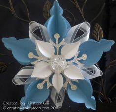 Kirsteen Gill Christmas Ornament: Marina Mist. Ornament Keepsakes