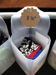 Storage for Quilt Your Stash scraps! Love Sew Many Ways, Tool Time Tuesday!