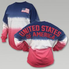 USA Long Sleeve Spirit Jersey