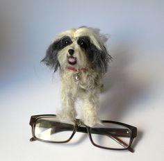 Needle felted Tibetan Terrier https://www.etsy.com/transaction/1003740941?