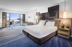 Hilton, Auckland in New Zealand #interiordesign #chada