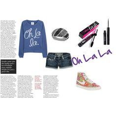 """Oh La la"" by isi-belieber3 on Polyvore"