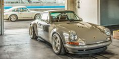 Singer let us plop one Tudor Series driver, Leh Keen, into the seat of their reimagined Porsche 911 and rip through Mazda Raceway Laguna Seca. Here's what we discovered.