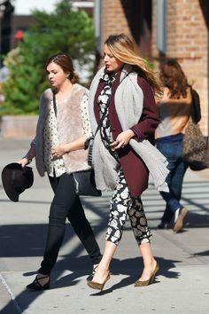 Blake Lively's Best Pregnancy Style - Celebrity Street Style