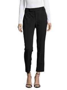JIL SANDER Textured Straight-Leg Pants. #jilsander #cloth #pants
