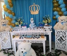 Decoração Urso Príncipe