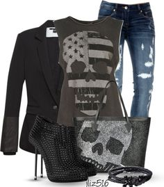 #skulls #outfit