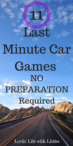 11 Classic Car Games for Kids (No Preparation Required Planning an epic road trip? Kids driving you crazy as you run your errands? Whether your car trip is long or short these, these 11 games for kids will help ease your travels. with kids From Road Trip Car Games, Car Ride Games, Fun Car Games, Car Games For Kids, Long Car Trips, Road Trip Activities, Toddler Car Games, Bus Games, Airplane Activities