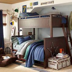 Beadboard Bunk Bed #pbteen