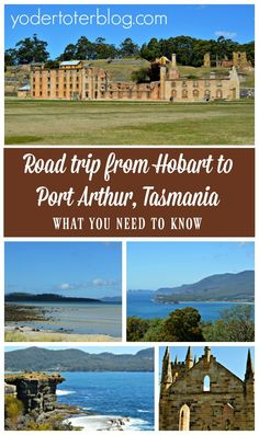 Road trip from Hobart to Port Arthur, Tasmania. Tips for stops to make along the way, plus thoughts on Port Arthur from a three-generations family. Road Trip With Kids, Family Road Trips, Travel With Kids, Port Arthur Tasmania, Tasman National Park, Tasmania Travel, Melbourne Travel, Kangaroo Island, Bucket List Destinations