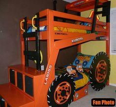 Kubota Tractor Bunk Bed...Jackson would love this!