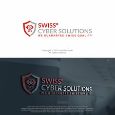 Swiss quality – we guarantee Team Logo, Logo Design, Marketing, Lorem Ipsum, Cyber, Designer, Social Media, Cool Logo, Simple Logos