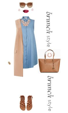 """""""simple brunch date"""" by sarahsuspicious ❤ liked on Polyvore featuring Billabong, Michael Kors, Lipsy, STELLA McCARTNEY, Henri Bendel, Kenneth Jay Lane, Kate Spade and TheBalm"""