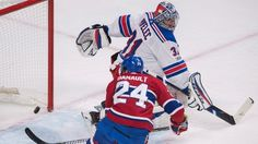 Phillip Denault's career night leads Habs past Rangers