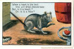 Rat Trap Valentine by pageofbats, via Flickr