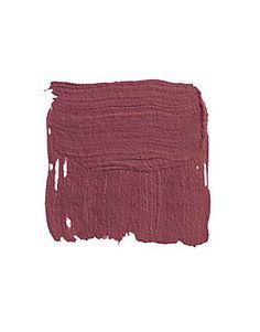 burgundy color:  Farrow & Ball Radicchio 96