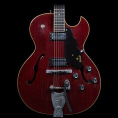Guild Starfire-III Semi-Hollow Electric Guitar (Cherry) | Reverb