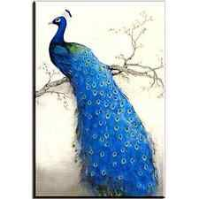 Canvas Prints Peacock on the Tree Framed Wall Art Decoration Bedroom Living Room