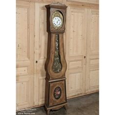 Country French Long Case Mobier Clock