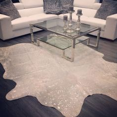 1000 images about metallic cowhides on pinterest for Cowhide rug houston