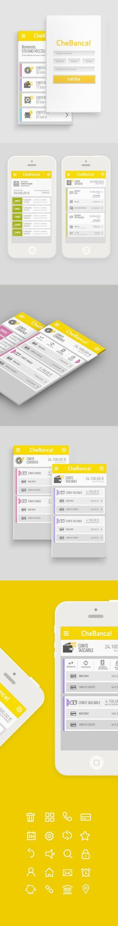 Banking App by LUMEN BIGOTT, via Behance