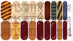 Thank you for your support of my artwork. Harry Potter Nails, Jamberry Nail Wraps, Order Form, You Nailed It, Custom Design, Nerd, Inspired, Artwork, Image