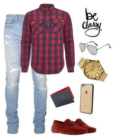 classy 2 by thenarshamissry on Polyvore featuring polyvore, Superdry, Balmain, Tod's, Nixon, Würkin Stiffs, Incase, DENY Designs, men's fashion, menswear and clothing