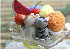 Simply Creative: Cute Japanese Handmade Desert (Click Through For Lots More Pictures)
