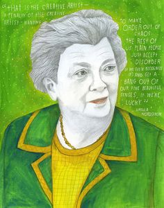 The Reconstructionists by Lisa Congdon:: Ursula Nordstrom (February 2, 1910 - October 11, 1988)