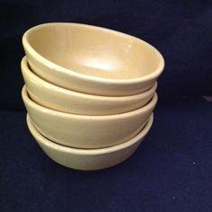 Frankoma 6X Bowls Yellow #Frankoma