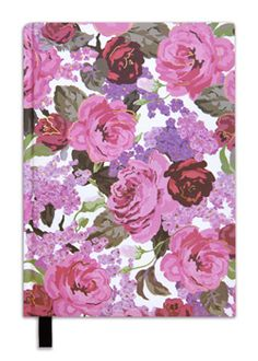 Cristina Re ~ Hard Cover Journal in Hydrangea Rose