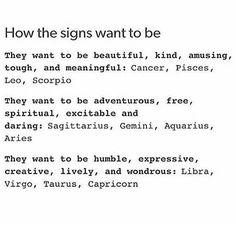 Because I am wonderfully creative. Capricorn
