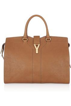 Saint Laurent Monogram Calfskin Clutch Bag, Red | Handbags ...