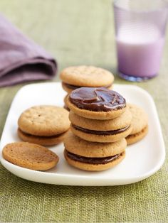 ... -Peanut-Butter Sandwich Cookies Recipe by pastry chef, Karen DeMasco