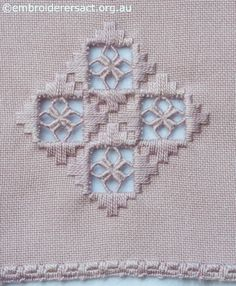 Hardanger Embroidery Patterns The Elegant Geometry of Hardanger - Hardanger Embroidery, Embroidery Stitches, Embroidery Patterns, Hand Embroidery, Types Of Embroidery, Learn Embroidery, Broderie Bargello, Bookmark Craft, Drawn Thread