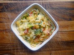 Vegetable Macaroni Cheese Bake
