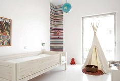 Colourful Apartment in Athens | via FloorNumberFour blog
