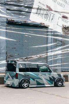 Toyota Scion XB Vinyl Decal Toaster Funny Window Sticker Bread Box Car Stance