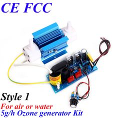 CE EMC LVD FCC 5g ozone water purifier ozonizer for vegetables and fruits