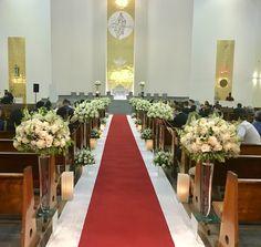 Burgundy Wedding, Fall Wedding, Wedding Ceremony, Church Wedding Decorations Aisle, Table Decorations, 50th Wedding Anniversary, Marie, Weddings, Holiday
