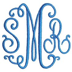 Suzanne Curlz Embroidery Font 4 and sizes, freebie Apex Apex Embroidery, Embroidery Monogram Fonts, Embroidery Ideas, Handwriting Alphabet, Font Alphabet, Grandma Crafts, Monogram Machine, Suzanne, Letter Patterns