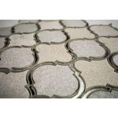 Veranda Niveous Quartz and Mirror Tile - Arabesque Tile - Shop By Tile Shape and Pattern