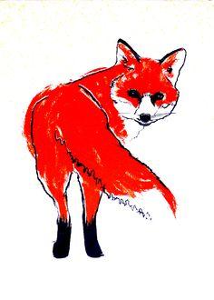 london fox illustration - Google Search