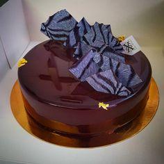 Commande entremet  #patisserie #cake #commande #xspatissier #chef #cheftalk #chocolat #vanille