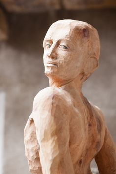 Statue, Gallery, Art, Sculptures, Wood, Roof Rack, Kunst, Sculpture, Art Education
