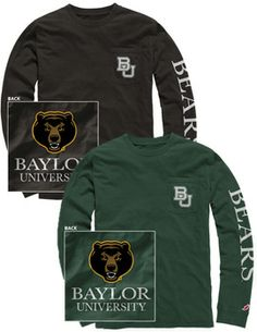 Product: Baylor University Bears Long Sleeve T-Shirt