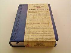 Turkish Full Life Study Bible / Yeni Yasam Aciklamali Kutsal Kitap / PU Delux Cover/ Silver Edges / Concordance, Huge amount of Notes