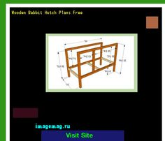 Wooden Rabbit Hutch Plans Free 203636 - The Best Image Search